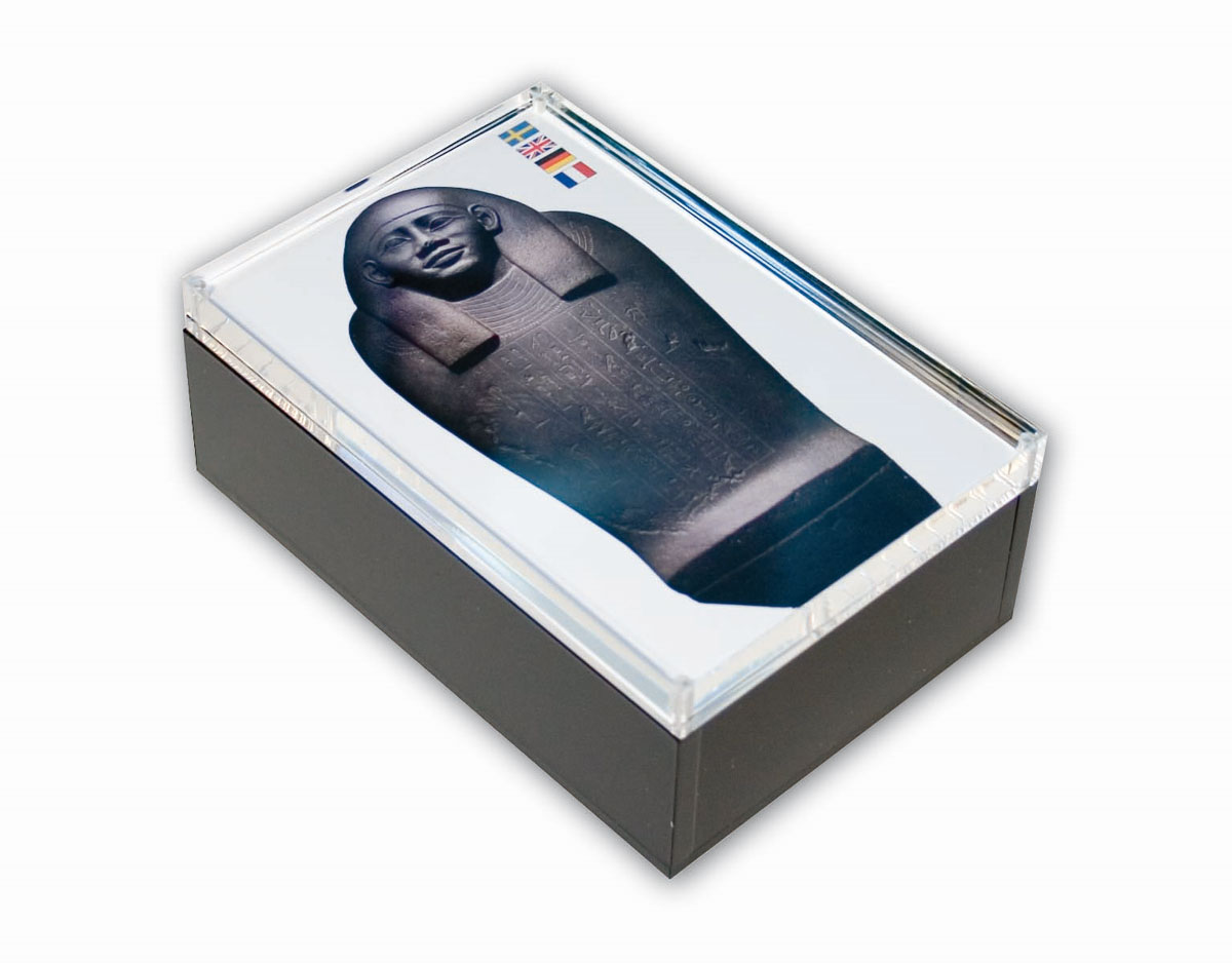 Akryl Box box med ram i akryl
